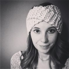 """So, I know that most of the time when I post a knitting pattern, it is usually very simple and for beginners. Last winter, I posted one for a knitted turban style headband, where you kind of """"faked..."""