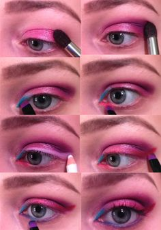 Pink Eyes with the Urban Decay Electric Palette