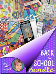 Back to school activities to make art integration easy for teachers. Math coloring sheets, collaborative math posters, back to school coloring sheets and so much more!