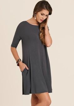 Kingston Tunic - Ash Gray - Bungalow 123 - 1