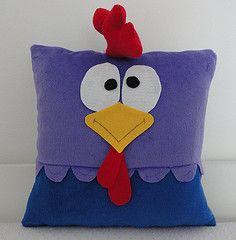 Dyi Pillows, Sewing Pillows, Kids Pillows, Decorative Pillows, Throw Pillows, Pillow Pals, Book Pillow, Bird Applique, Applique Quilts