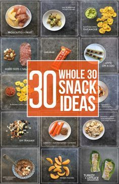 Thinking of doing the Whole 30? Let these snacks keep you motivated. Check out Whole 30 Snack Ideas on Shutterbean.com!