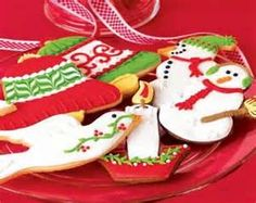 decorated christmas cookies ideas - Yahoo Image Search Results
