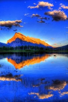 Rundle Mountain, Banff, Canada (via Canada)