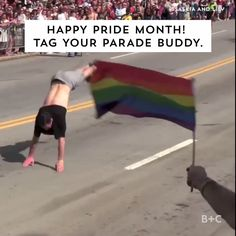 Watch this video to learn about the history of LGBTQA pride parades and why they are so important.