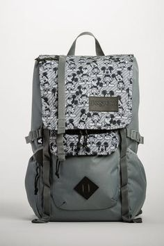 839b8f0ee51 JanSport Disney Hatchet Backpack - Grey Rabbit Mickey Hatchet Backpack
