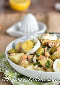 salade portugaise au thon et pois chiche 3
