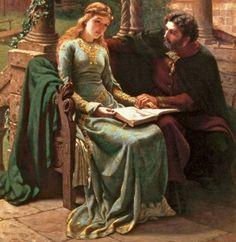 Abelard & Heloise- poor Abelard who suffered from castration... Great story though..,