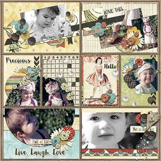 Digital Scrapbook Page Layout by apottinger using Mary Margaret, matching Journal Cards and Summer Journal Mason Jars from Etc by Danyale at The Lilypad #etcbydanyale #digitalscrapbooking #memorykeeping #masonjar
