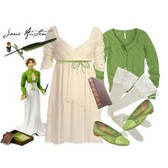 Awesome Jane Austen-esque greenery!