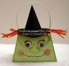 Stampin' Up Petite Purse witch