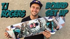 TJ ROGERS BOARD SET UP & INTERVIEW: WATCH MORE BOARD SET UPS HERE… #Skatevideos #board #interview #rogers