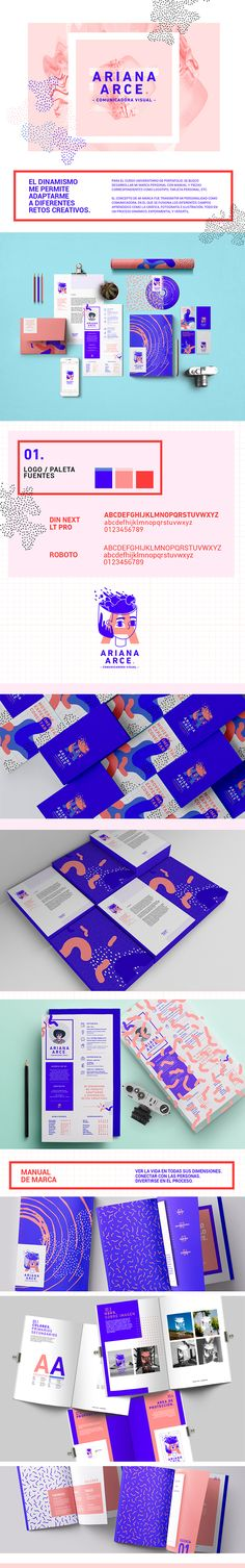 Branding and design inspiration || love the use of bold colors and patterns! So entrancing. #color #theory