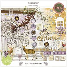 First Light Elements by Lynn Grieveson Designs.  Available at The Lily Pad.