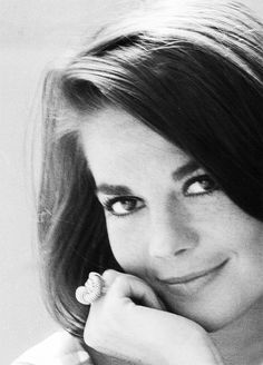 """""""I was so overprotected, I used to think I was a delicate as people said I was."""" Natalie Wood"""