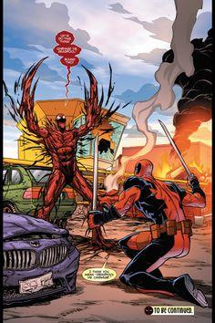Carnage vs Deadpool!