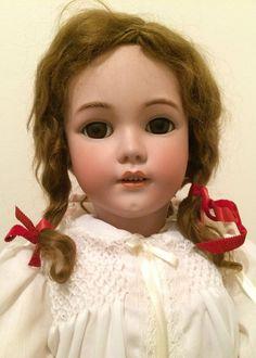 """31"""" Original Heinrich Handwerck Doll, Circa 1900, Amazing Condition"""