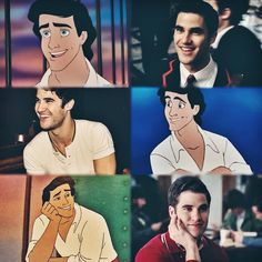 : dare is a disney prince and we all saw it comingg  literally the best day of my life sofmf, my life is complete  #glee #darrencriss