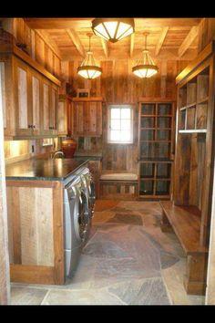 Dream mud room!