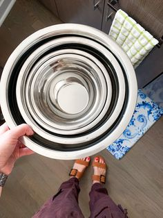 Mixing Bowls | Kitchen Essentials | Appliances, Tools & More My Essentials, Kitchen Essentials, Traditional Bowls, Vitamix Blender, Sparkling Drinks, Pasta Bowl Set, Mixing Bowls, Apartment Therapy, Bliss