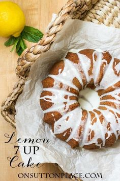 Easy and quick, this Lemon 7 Up Bundt Cake recipe is the perfect light dessert for anytime and any occasion. Just 5 ingredients and about 10 minutes from start to in the oven!