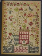 STRAWBERRY FIELDS FOREVER CROSS STITCH SAMPLER BLACKBIRD DESIGNS