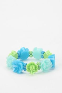 Flower Power Stretch Bracelet  urban outfitters