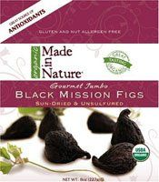Made In Nature Gourmet Jumbo Black Mission Figs -- 8 oz $3.84