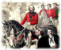 Garibaldi Shirt. The Garibaldi shirt or jacket of the 1860s owed its name to the outfit worn by the European revolutionary, Giuseppe Garibaldi. Notorious for its bright red color, the Garibaldi shirt was the forerunner of the modern day woman's blouse.