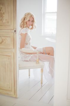 boudoir, garter, Bridal Musings Wedding Blog