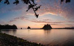 Photographer: Mike Qualls  Title: Sunset-Little James Island  Location: Washington
