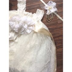 Lace and Tulle formal dress by WVintagevibe on Etsy, $60.00