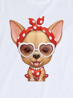 happy valentine's day! Cute Cats And Dogs, I Love Dogs, Animals And Pets, Baby Animals, Cute Animals, Chihuahua Puppies, Cute Puppies, Dogs And Puppies, Doggies