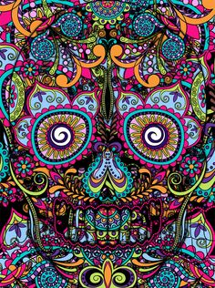 I present to you, my book of skulls. Here you'll find all kinds of skull related stuff. Mexican Skulls, Mexican Art, Tattoos Pinterest, Sugar Skull Art, Sugar Skulls, Foto Transfer, Skull Wallpaper, Day Of The Dead Skull, Candy Skulls