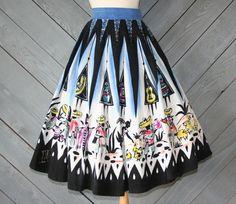 Beautiful Mexican Circle Skirt <3