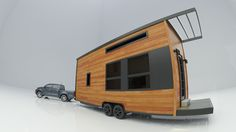 Sequoia tiny home provides maximum freedom to inhabitants
