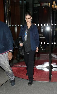 Bella Hadid Outfits, Bella Gigi Hadid, Bella Hadid Style, High Fashion Trends, Star Clothing, Models Off Duty, Soft Grunge, Fashion Killa, Celebrity Style