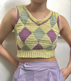 Cute Crochet, Crochet Crafts, Crochet Projects, Knit Crochet, Crotchet, Knitting Patterns, Sewing Patterns, Crochet Patterns, Crochet Clothes