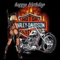 Happy Birthday! Harley Davidson