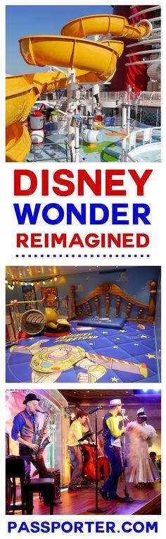 Disney Wonder Reimagined: What's New, What's Changed | Disney Cruise | http://PassPorter.com