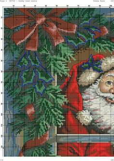 Candy Cane Santa 3.6