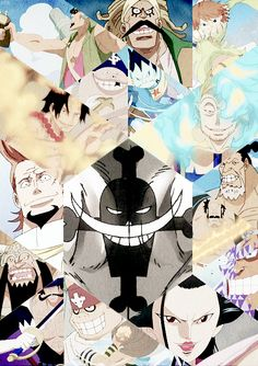 The Whitebeard Pirates were formerly one of the strongest…