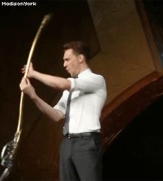 GIF. Lol I just realized that I think we all make that face when we are twirling a baton or something like that lol