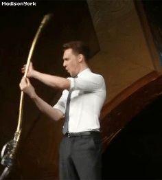 GIF. Oh, Tom!! lol