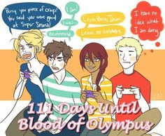 111 Days Until The Blood of Olympus
