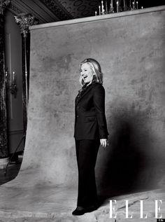 Margaret Wheeler Johnson: Hillary Clinton Talks Women, Work-Life Balance In New 'Elle' Magazine Profile  Simply beautiful!