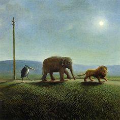 [EndLiss scans - Wildlife Art] Michael Sowa - On the Road
