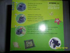 Basteln- Sticker selbst gestalten,für Xyron 250,Stickermaker,neu,Ersatzkartusche