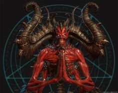 Mephisto, Svein Yngve Sandvik Antonsen on ArtStation at… Fantasy Demon, Demon Art, Fantasy Art, Vampires, Evil Skull Tattoo, Satanic Art, Dark Pictures, Modelos 3d, Demonology