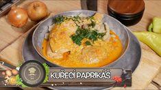 KUŘECÍ PAPRIKÁŠ! KUŘE NA PAPRICE KTERÉ UŽ NEBUDETE CHTÍT PŘIPRAVOVAT JIN... Thai Red Curry, Fruit, Ethnic Recipes, Youtube, Food, Kitchens, Drinks, Red Peppers, Cooking